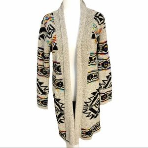 Northern Angel Southwest Print Cardigan